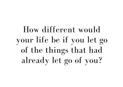 how different would your life be_