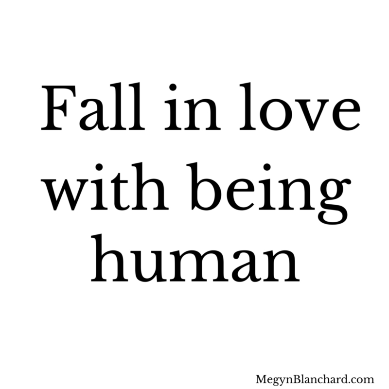 Fall in love with be Human