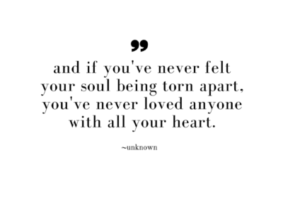 if you've never loved anyone with all your heart-1
