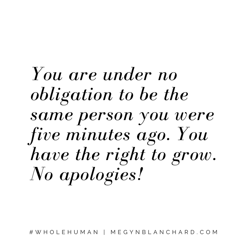 You are under no obligation...find out more at Megynblanchard.com