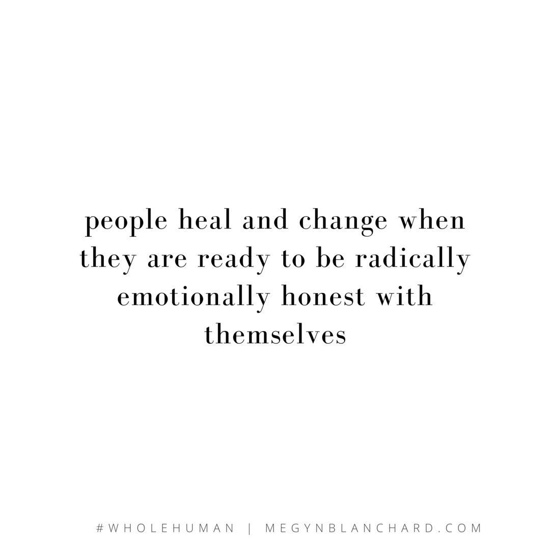 people heal and change
