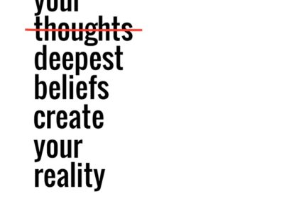Can changing your thoughts really help you?