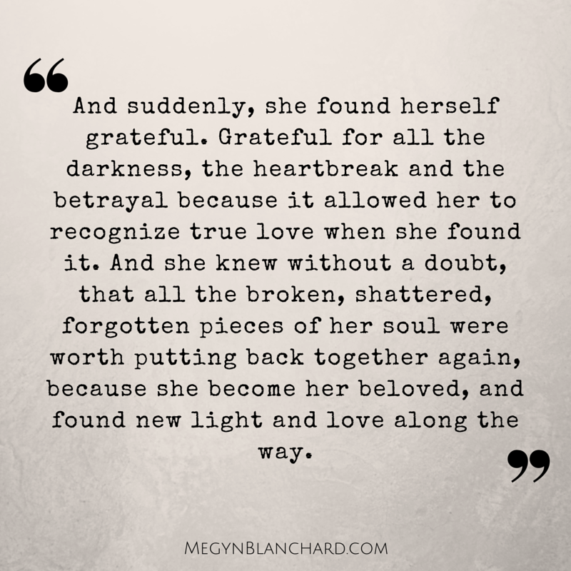 QUOTES LIFE + LOVE | MEGYN BLANCHARD